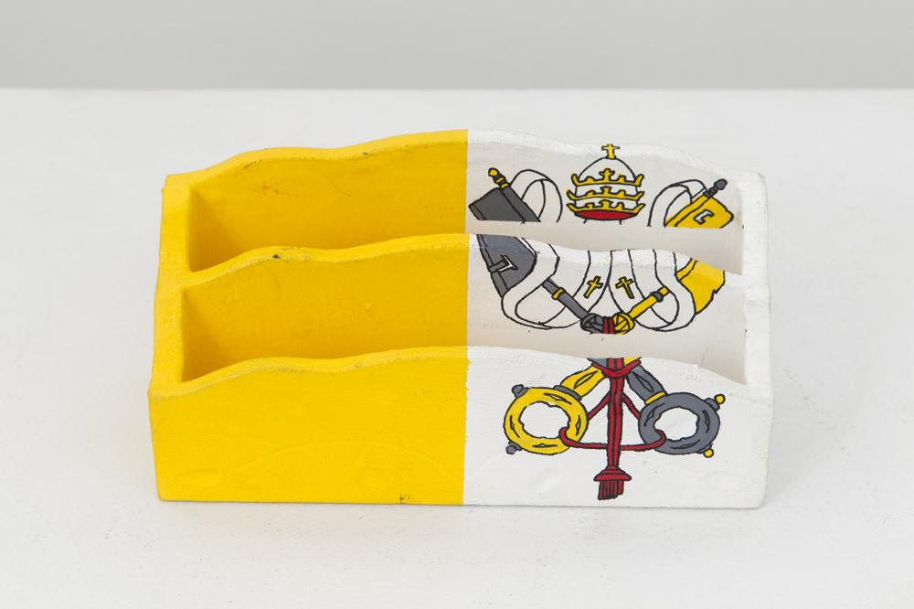 Meschac GABA Souvenir Palace: Letter holder 4 2014...