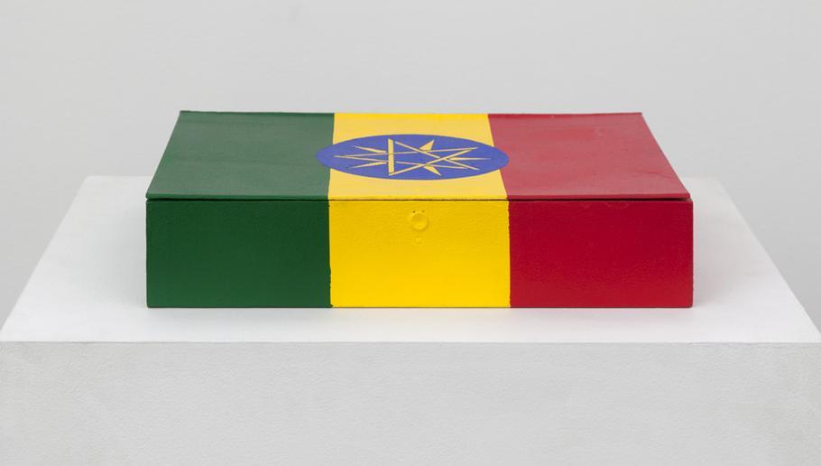 Meschac GABA Souvenir Palace: Small box 3 2014 oil...