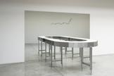 Agnieszka KURANT Untitled 2014 conveyor belt and m...