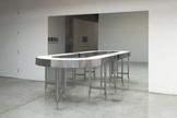 Agnieszka KURANT Untitled 2014 conveyor belt and m...