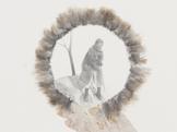 Peggy PREHEIM Iris (detail) 2014 mixed media...