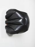 Analia Saban Bulge (Black) #1 2015 encaustic paint...
