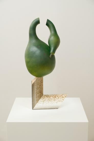 Frank Benson Swan Gourd 2005 cast plastic, acrylic...