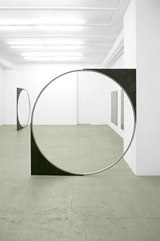 Nicole WERMERS Untitled Forcefield 2007 stainless...
