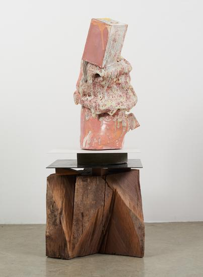 Arlene Shechet Above and Beyond 2015 glazed cerami...