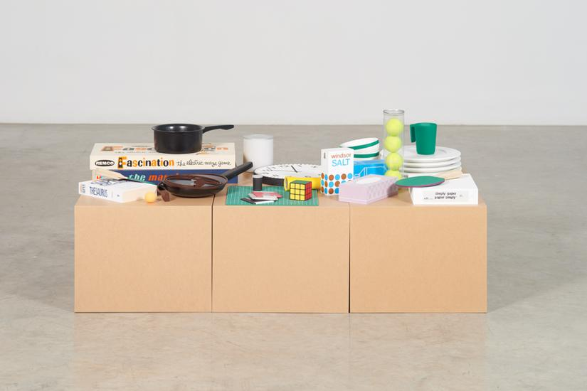 Roula Partheniou Packed Boxes with Clutter 2015 ac...