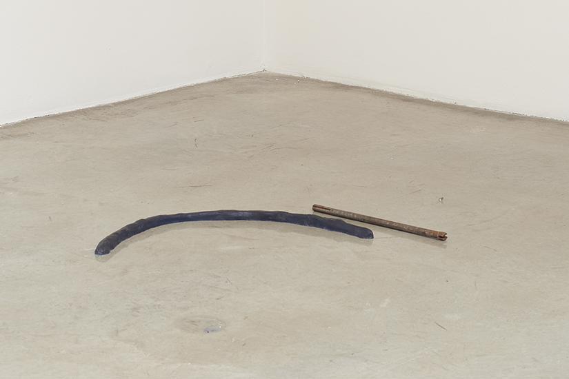 Esther Kläs 2/1 (blue) 2015 iron, resin, ink...