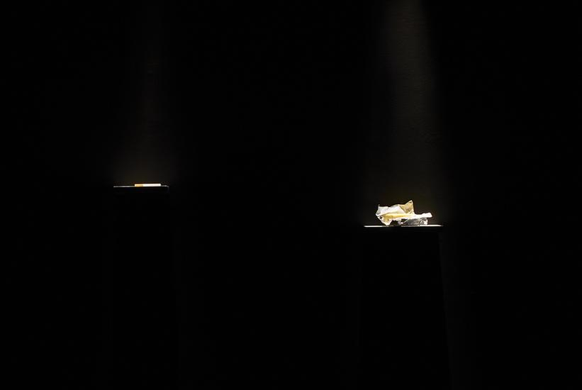 Laure Prouvost An e-cigarette and a butter 2014 bu...