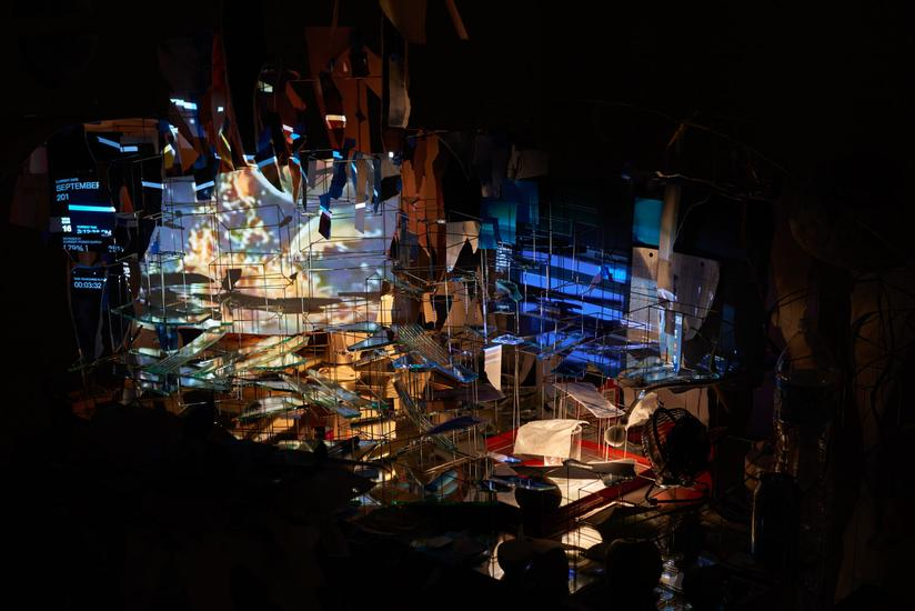 September 10 - October 17, 2015 -  - Sarah Sze - Exhibitions