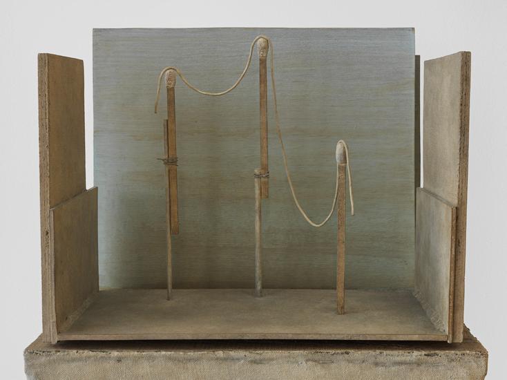 Mark Manders Figure Study (detail) 1997 - 2015 Pat...