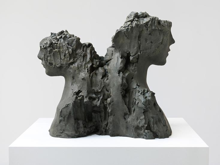 Mark Manders Model for Fountain 2015 Patinated bro...