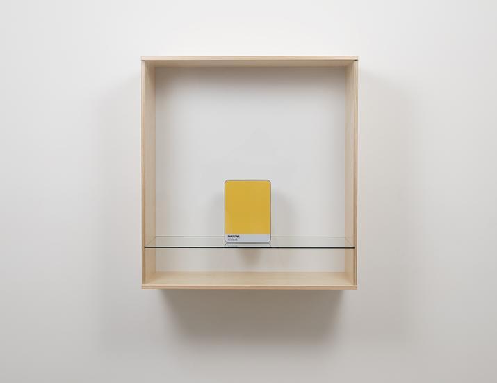Haim Steinbach Untitled (Pantone 14-0848) 2016 Bal...