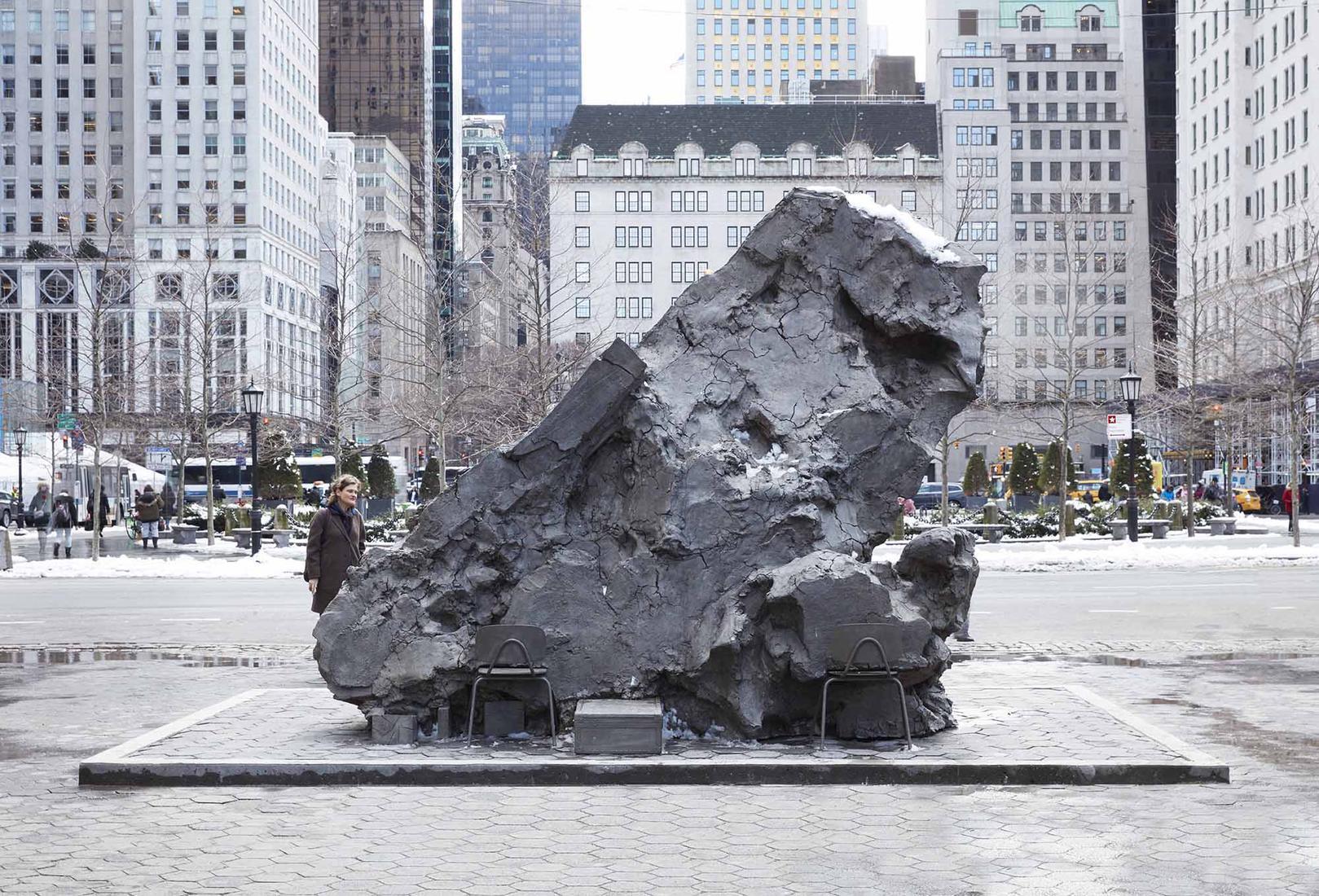 MARCH 6 — SEPTEMBER 1, 2019 - Doris C. Freedman Plaza, Central Park - MARK MANDERS: TILTED HEAD -  - Exhibitions