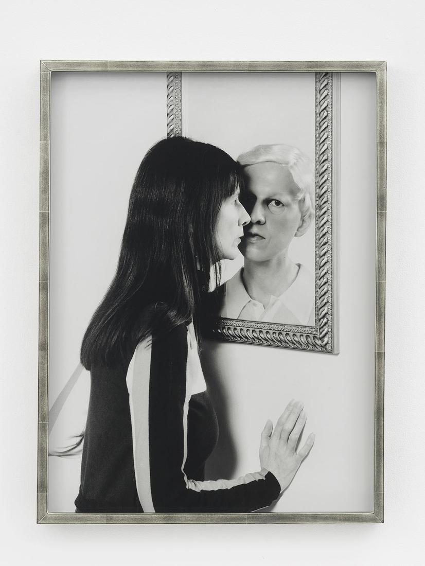 Gillian WEARING Me and Claude in Mirror 2017 bromi...