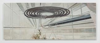 Carla KLEIN Untitled 2017 oil on canvas 59 x 147 1...