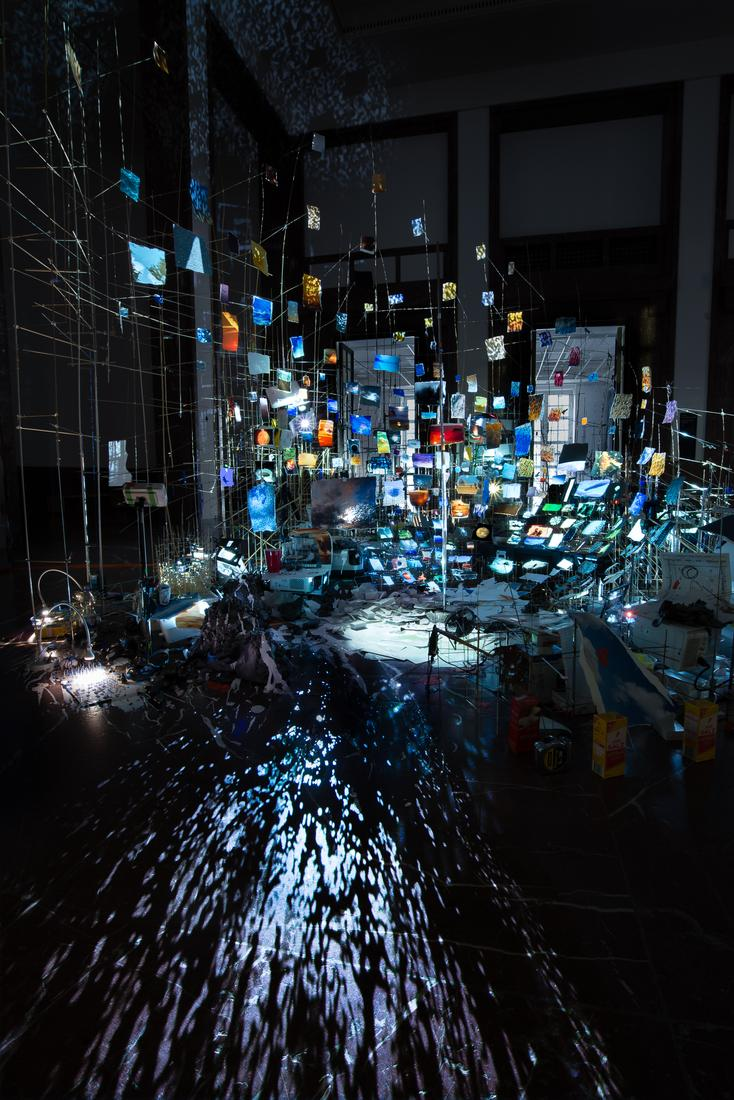 September 15, 2017 —  August 12, 2018 - Haus Der Kunst, Munich - Sarah Sze: Centrifuge -  - Exhibitions