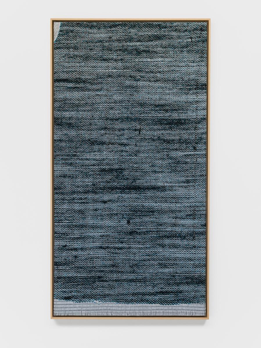 Lisa Oppenheim Jacquard Weave (Denim, Version I) 2...