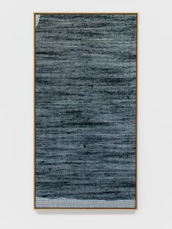 Lisa Oppenheim Jacquard Weave (Denim, Version I) 2...