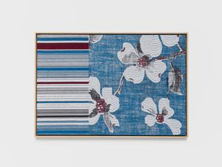 Lisa Oppenheim Jacquard Weave (Apple Blossoms) 201...
