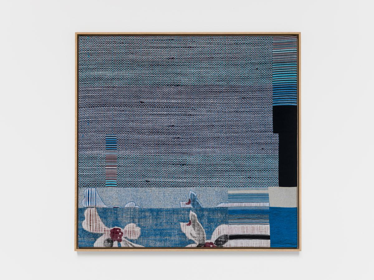 Lisa Oppenheim Jacquard Weave (Errata) 2017 Jacqua...