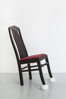 Liu Shiyuan Chair 2014 kinetic sculpture dimension...