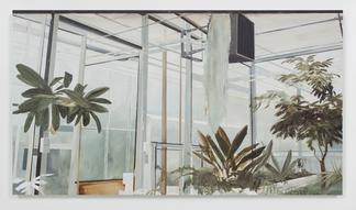 Carla KLEIN Untitled 2017 oil on canvas 59 x 106 1...