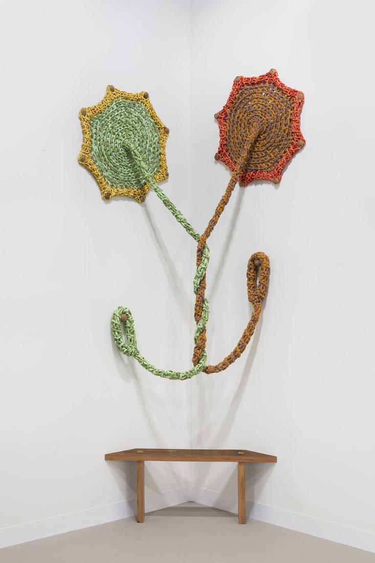 Ernesto NETO Untitled (provisory) 2018 Cotton voil...