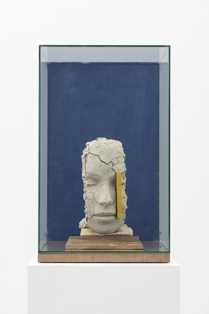 Mark MANDERS Composition with Yellow and Blue 2014...