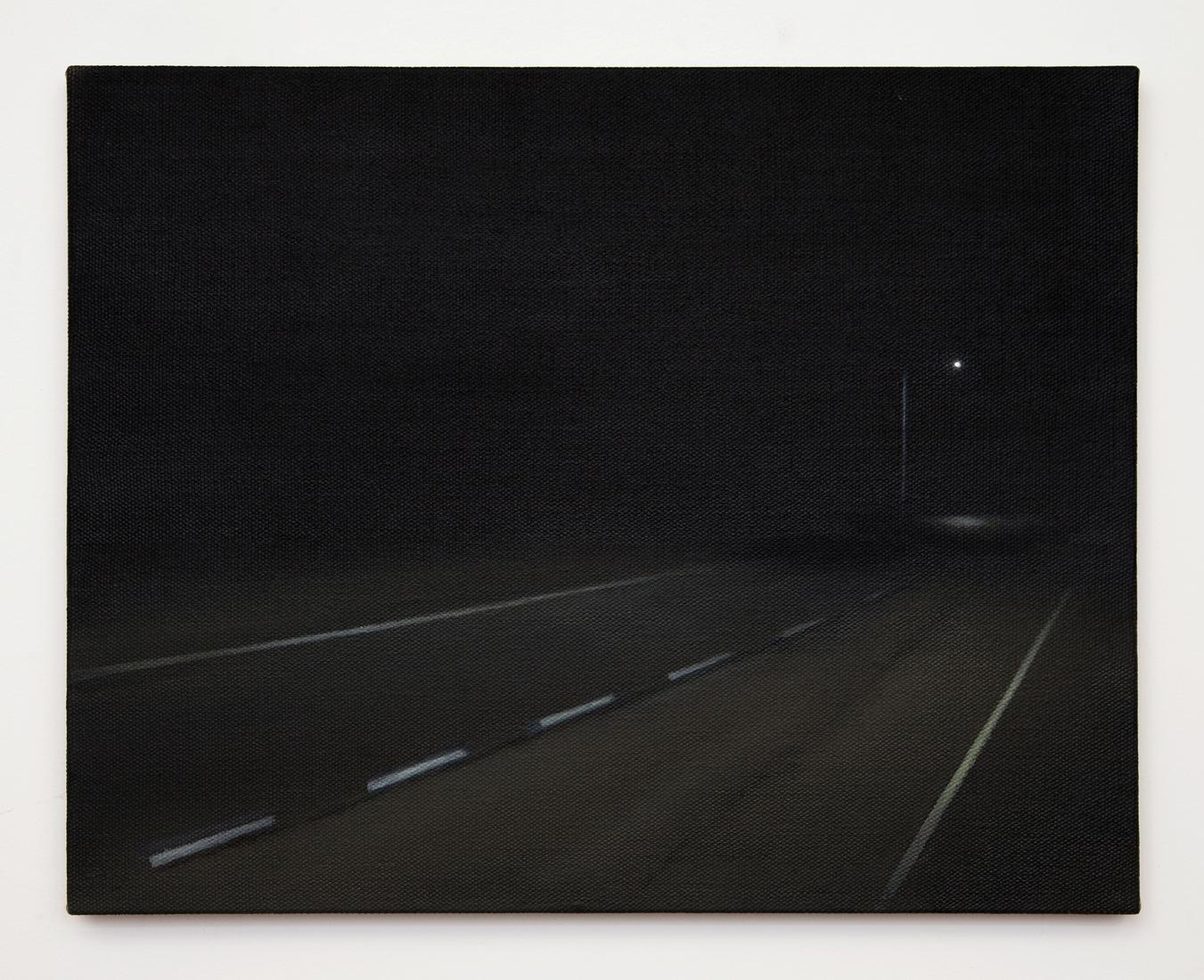 Dana POWELL Roadside 2018 Oil on linen 16 x 20 inc...