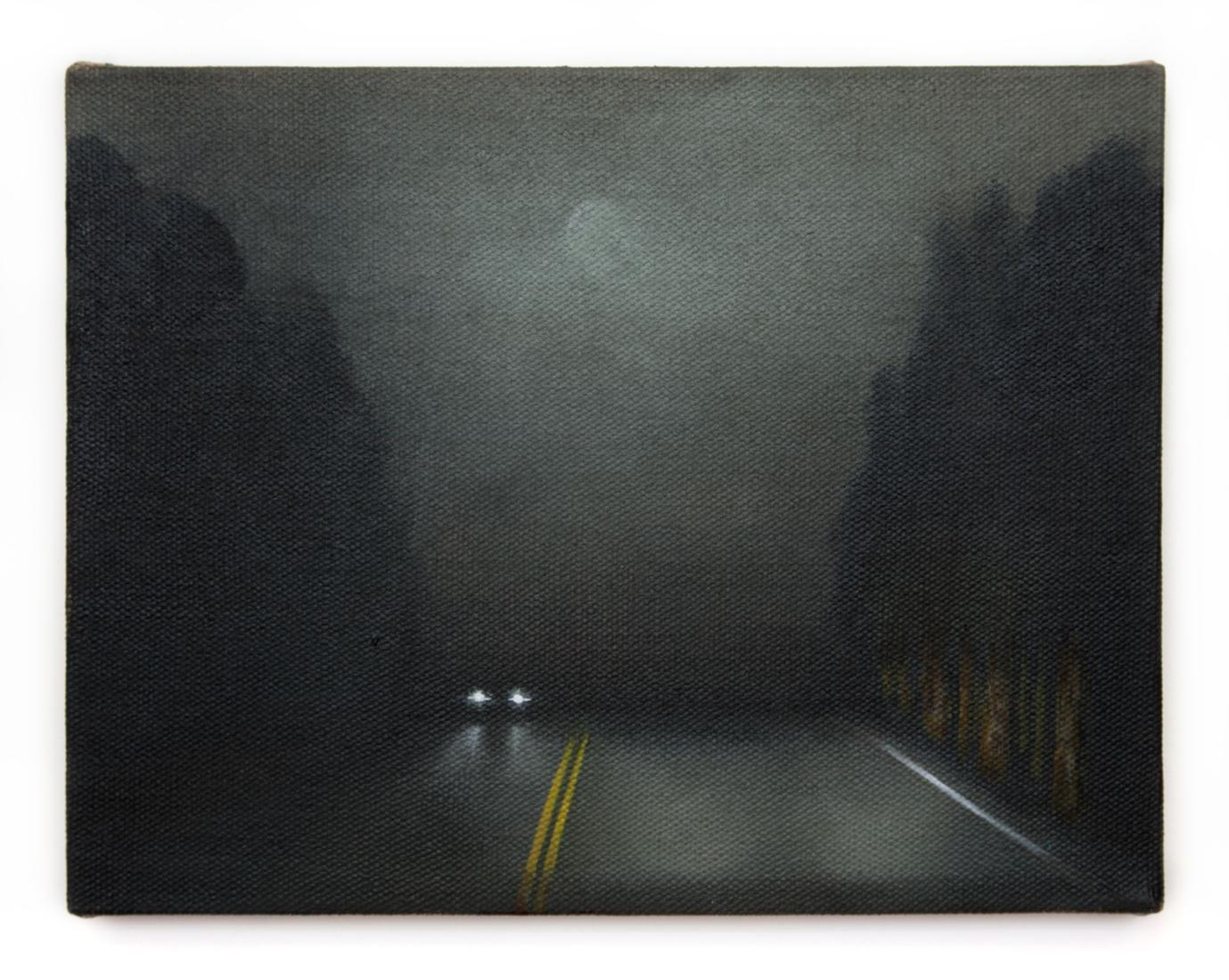 Dana POWELL Night drivers 2018 Oil on linen 10 x 1...