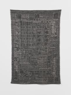 Analia Saban Tapestry (8-Bit Microprocessor, 8008,...