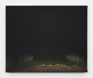 Dana POWELL Dirt drive 2018 Oil on linen 8 x 10 in...
