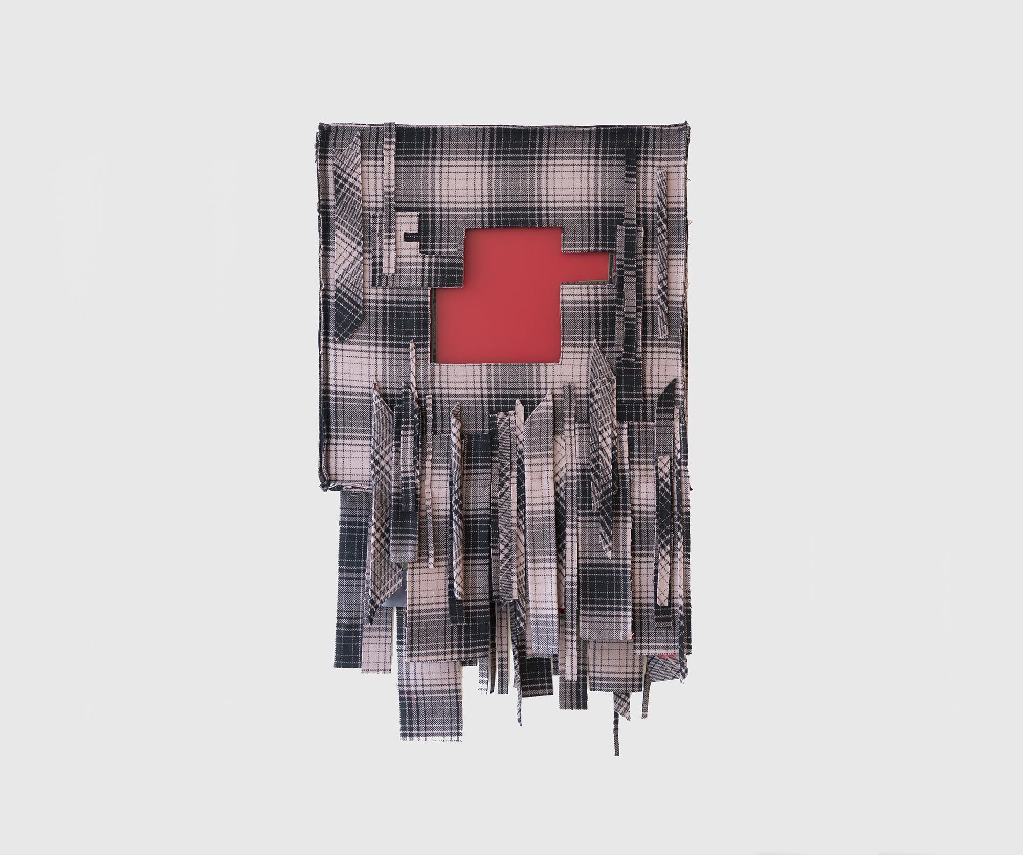 Laura Lima Thelonious 2019 Fabric, thread, wood, p...