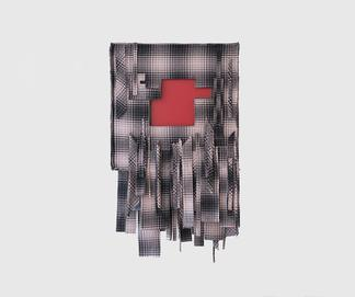 Laura Lima Thelonious 2019 Fabric, thread, wood, p...