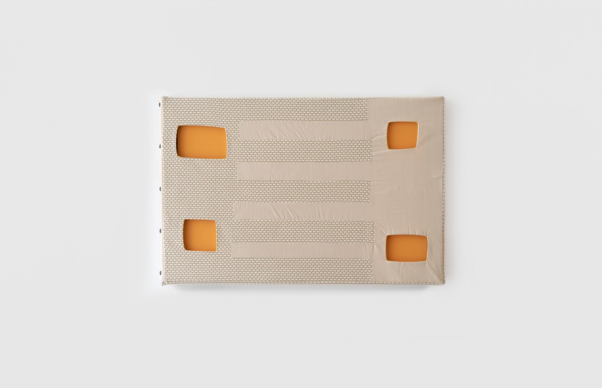Laura Lima Andrew and Baguette 2019 Fabric, thread...