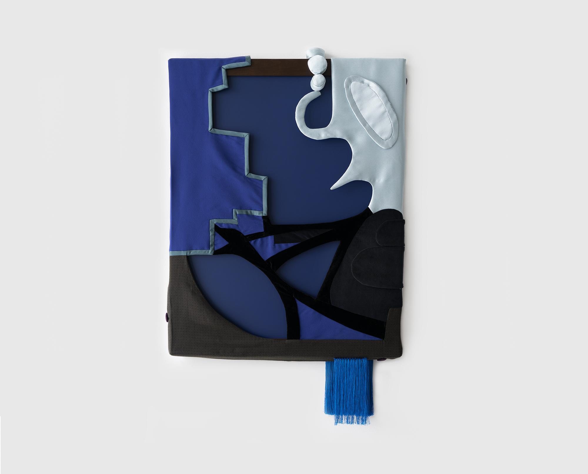Laura Lima The moor 2019 Fabric, thread, wood, pai...