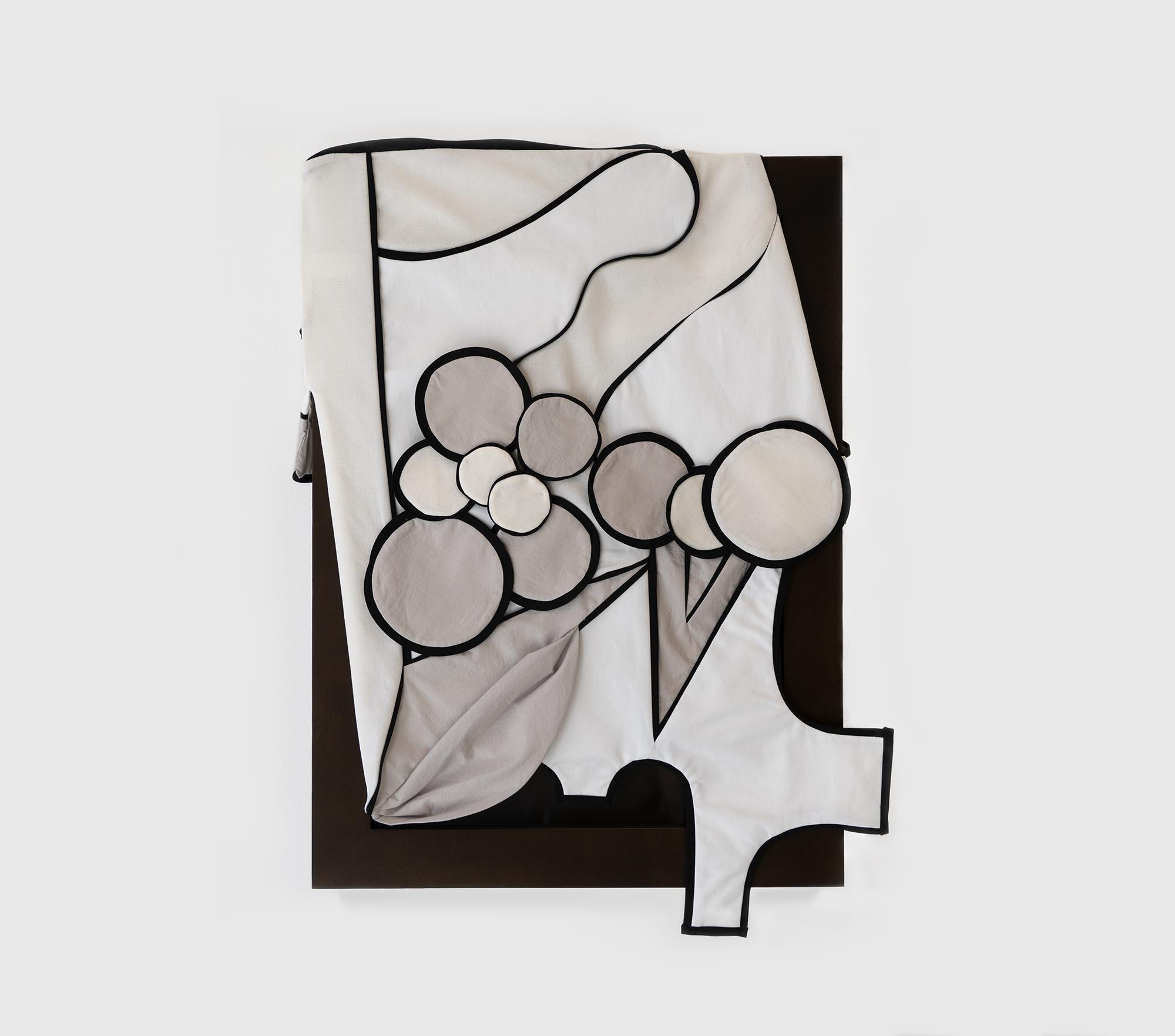 Laura Lima Zuzu 2019 Fabric, thread, wood, glass,...
