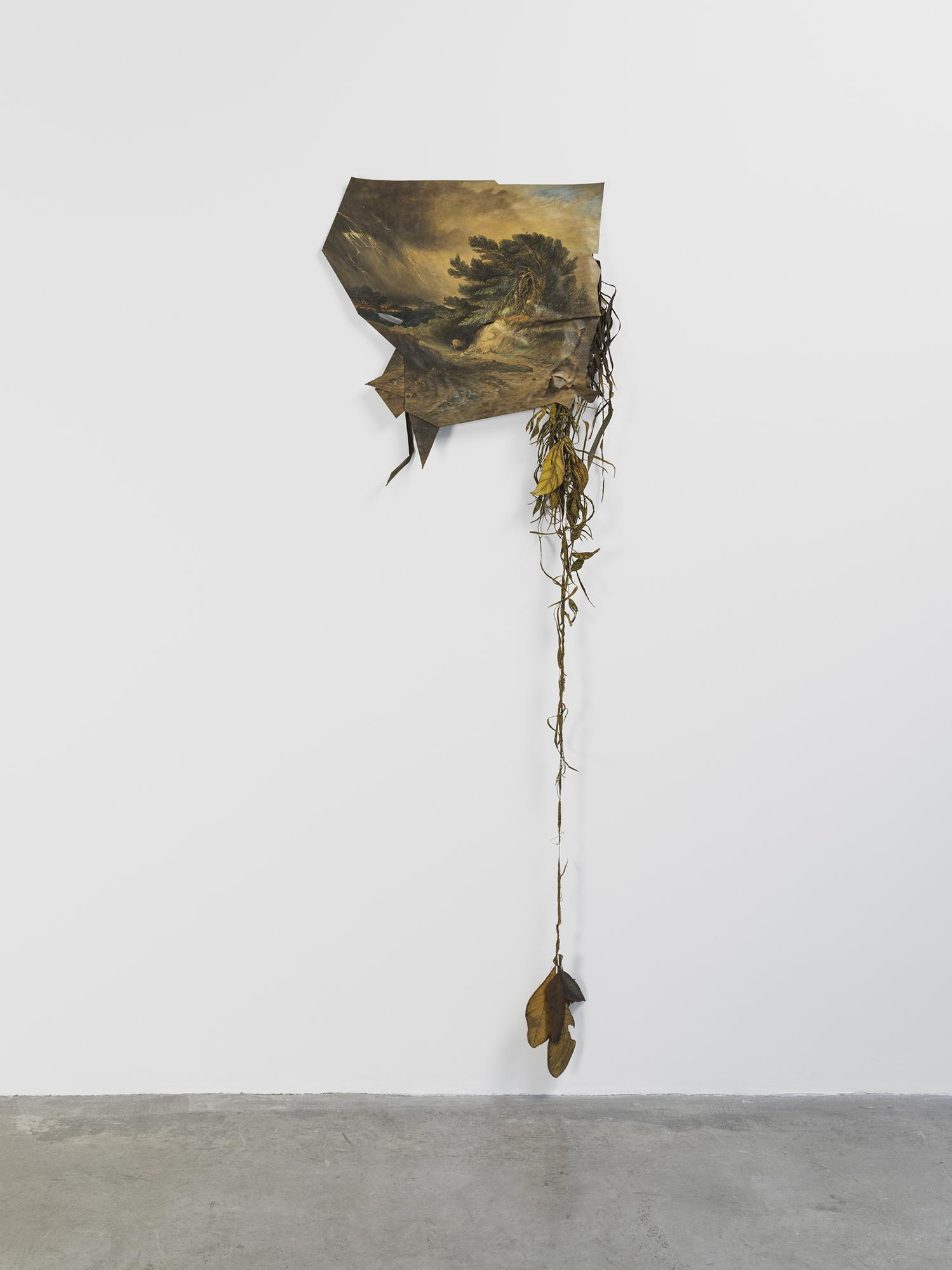 Laura Lima Nomad 2008/2019 Acrylic on shaped canva...