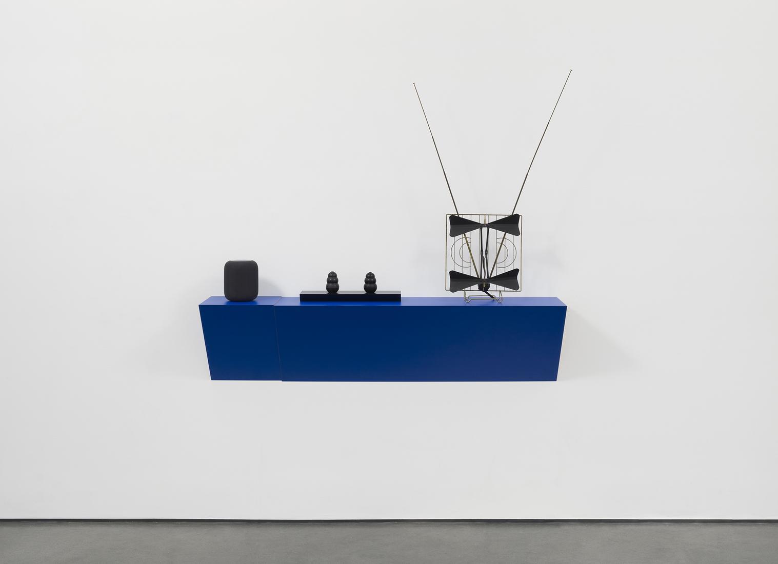 Haim STEINBACH Untitled (siri, kongs, antenna) 201...