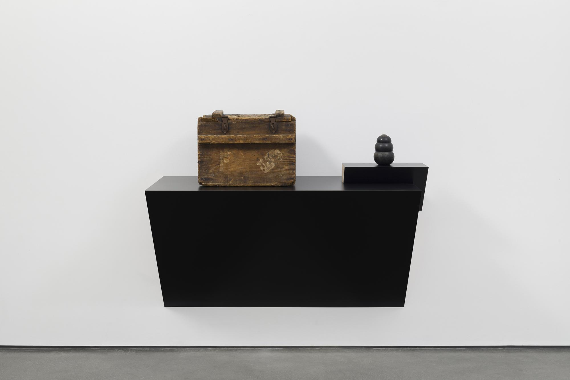 Haim STEINBACH Untitled (chest, kong) 2018 Plastic...