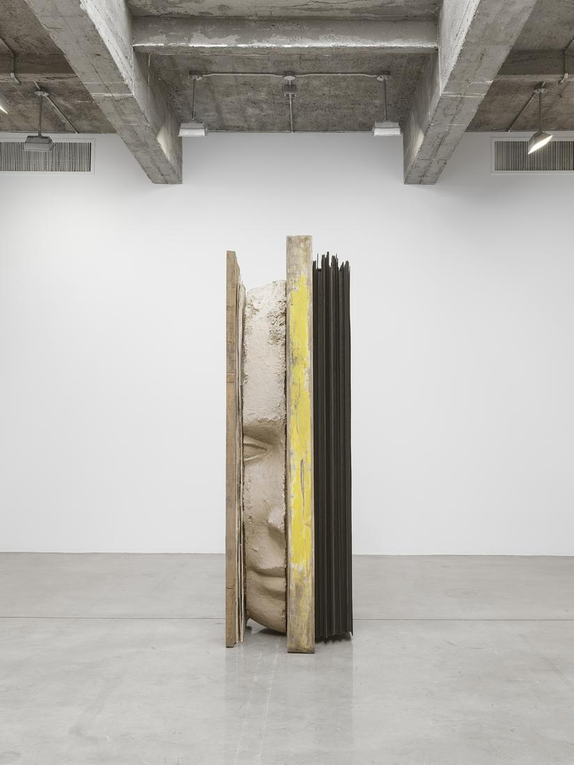 Mark MANDERS Composition with Yellow Vertical 2017...