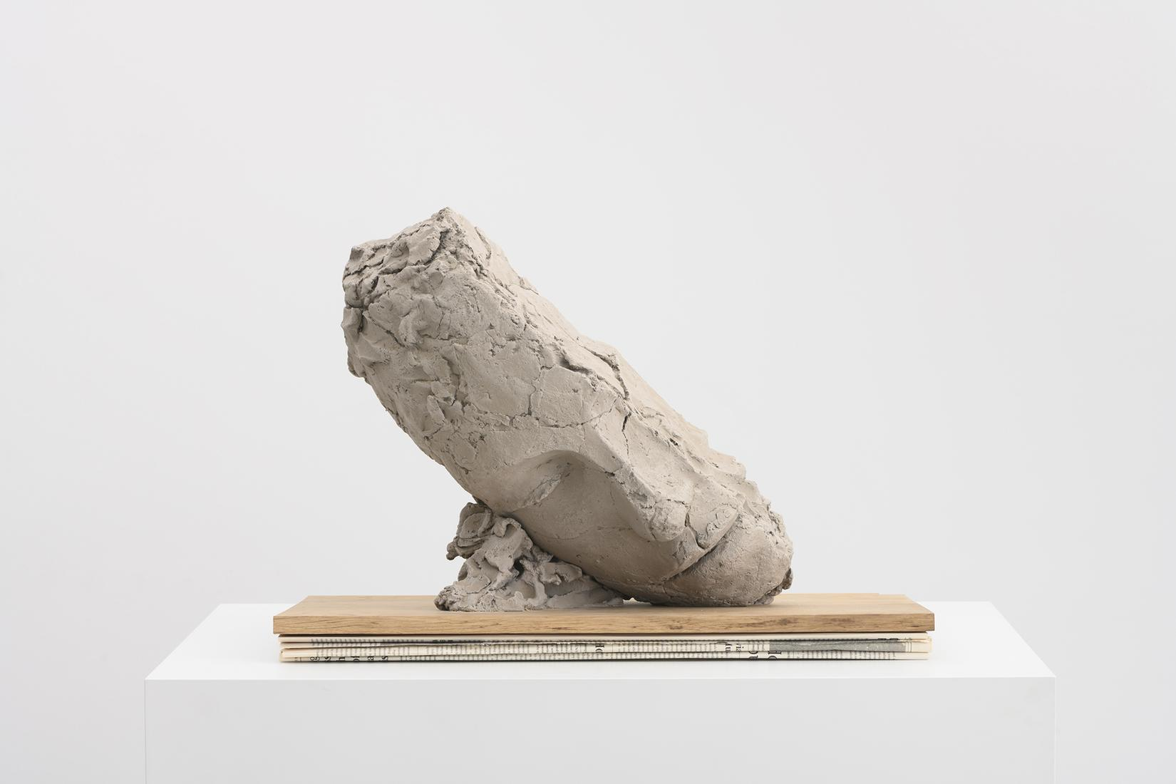 Mark MANDERS Study for Large Tilted Head 2017-18 P...