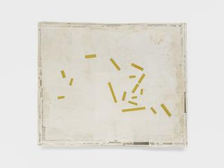Mark MANDERS Composition with Yellow 2005-19 acryl...