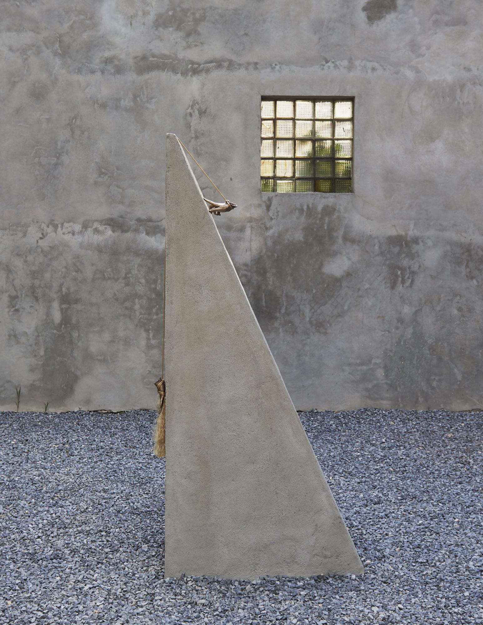 Kelly Akashi Feel Me 2017 Concrete, bronze,...