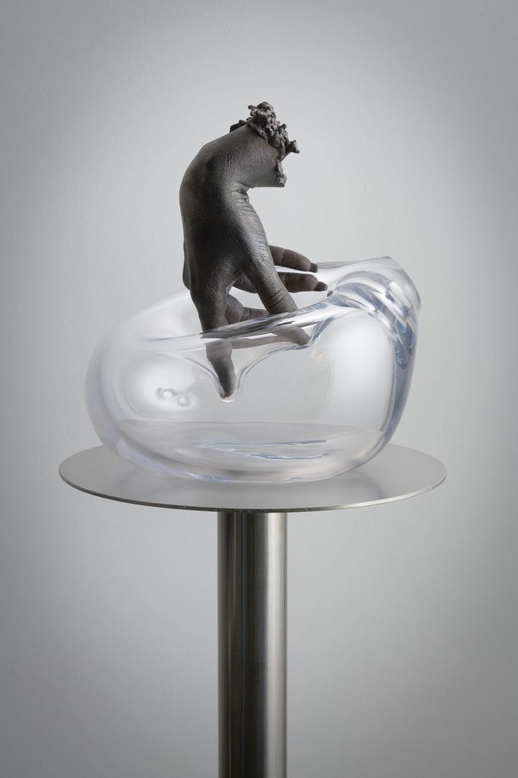 Kelly Akashi Submersion 2019 Hand-blown glass, sta...