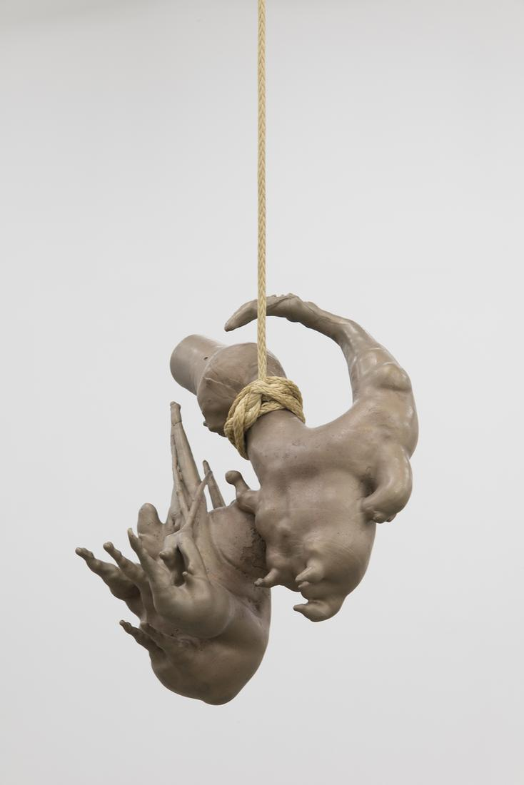Kelly Akashi Untitled (Mirror Image) 2014 Bronze D...