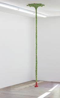 This is an image of Ernesto Neto's sculpture calle...