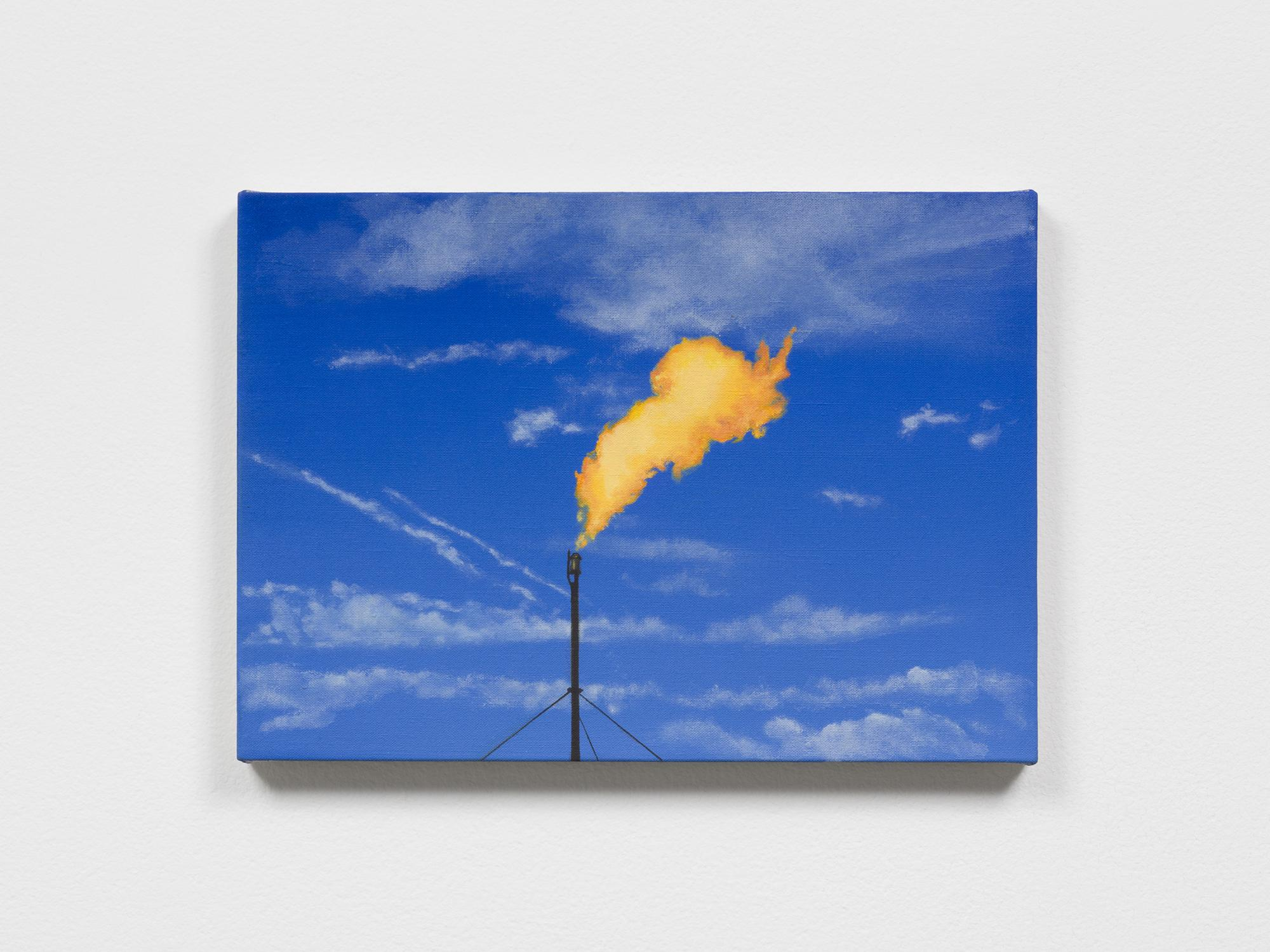 Dana POWELL Flare 2019 Oil on linen 10 x 14 inches...