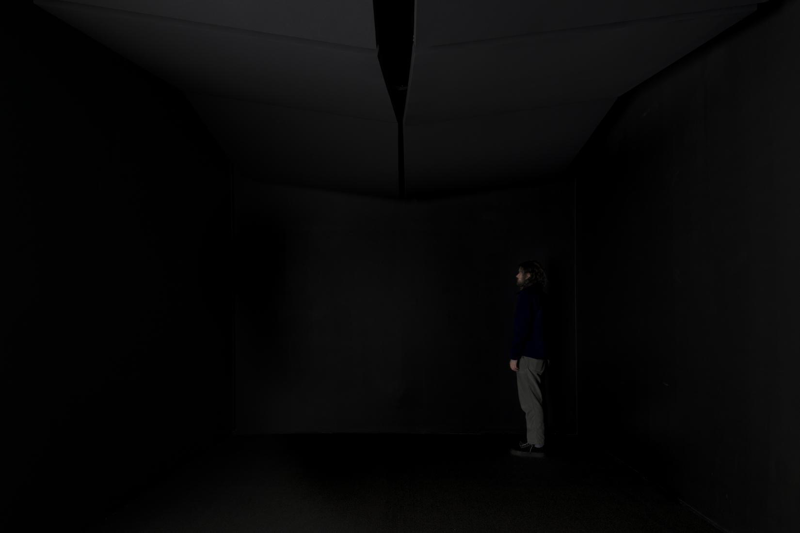 "This is an image of Jónsi sculpture ""Svartalda (D..."