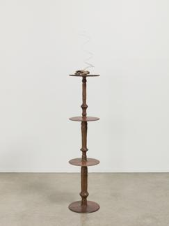 """This is an image of Kelly Akashi's sculpture """"Wiel..."""